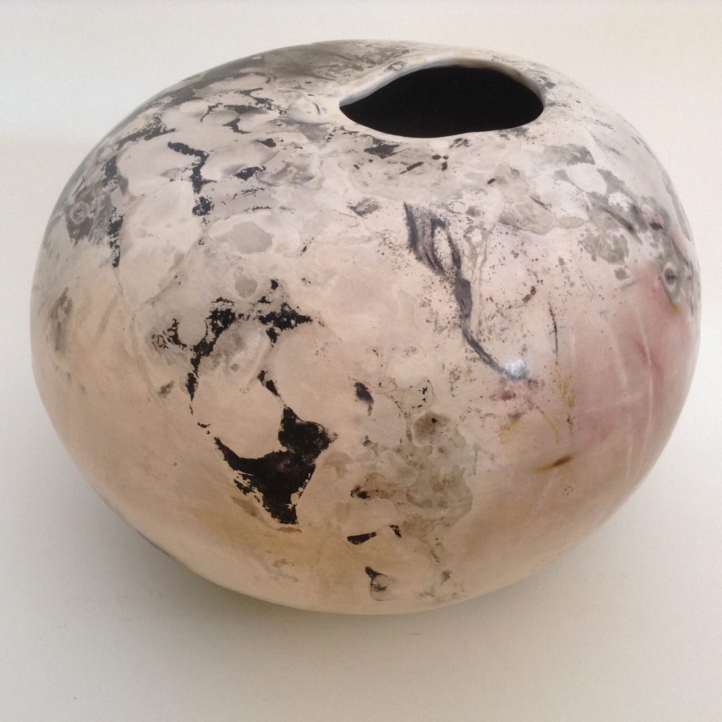 """Marble Surround"" Pit Fired Vessel"